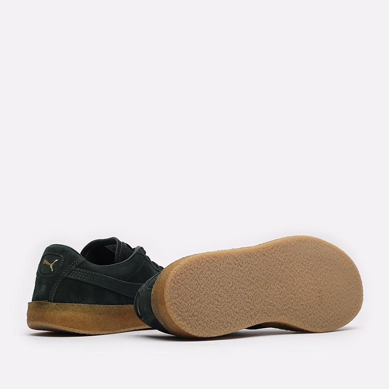 мужские зелёные  кроссовки puma suede crepe 38070704 - цена, описание, фото 3