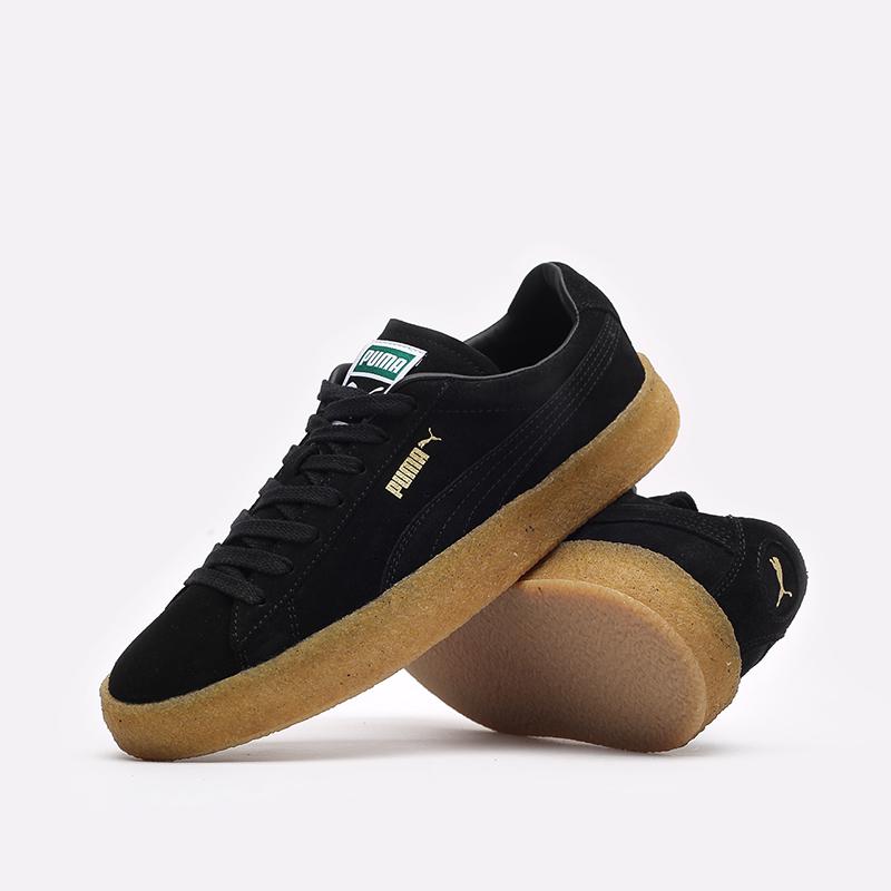 мужские черные кроссовки PUMA Suede Crepe 38070702 - цена, описание, фото 2