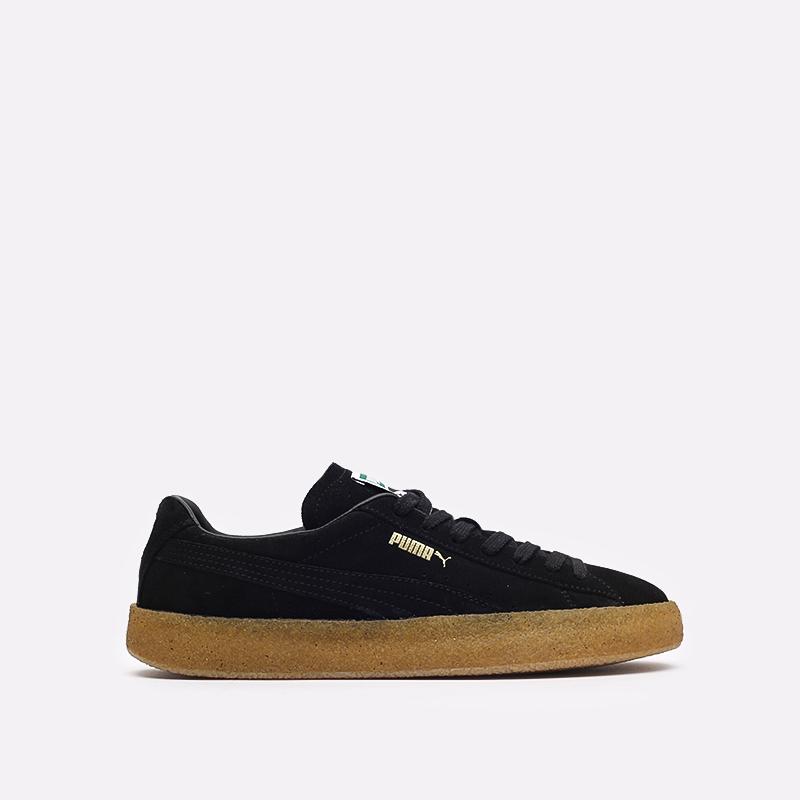 мужские черные кроссовки PUMA Suede Crepe 38070702 - цена, описание, фото 1