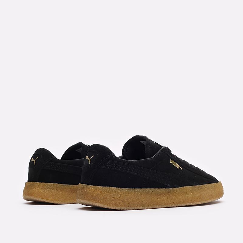 мужские черные кроссовки PUMA Suede Crepe 38070702 - цена, описание, фото 3