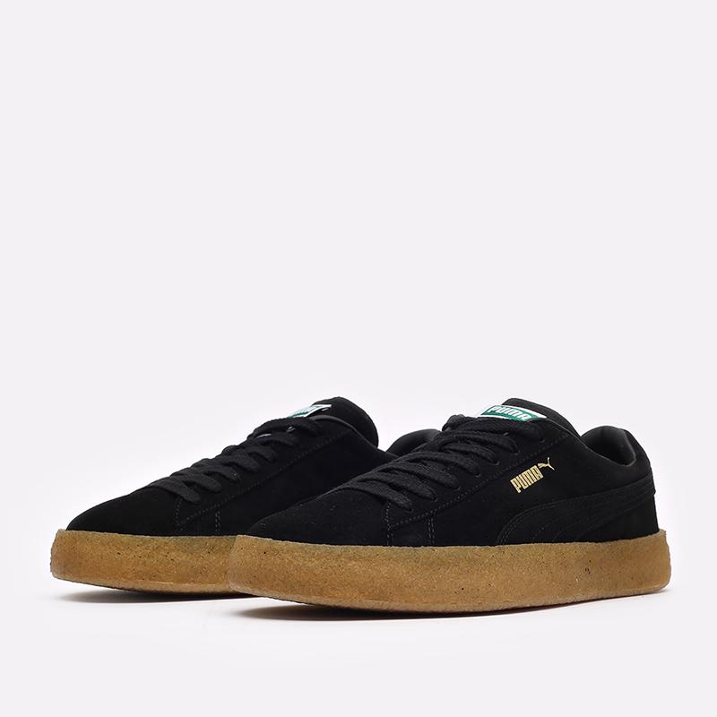 мужские черные кроссовки PUMA Suede Crepe 38070702 - цена, описание, фото 4