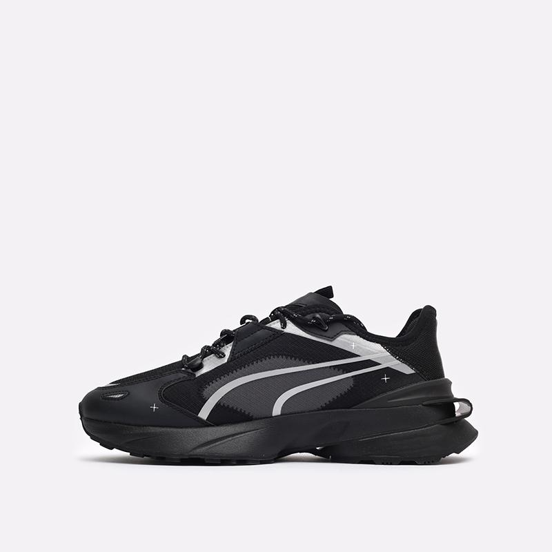 мужские чёрные  кроссовки puma pwrframe op-1 tech 38342301 - цена, описание, фото 2