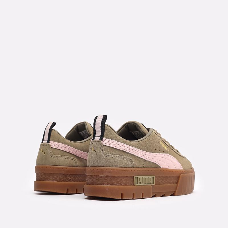 женские бежевые  кроссовки puma mayze gum wn's 38188701 - цена, описание, фото 3