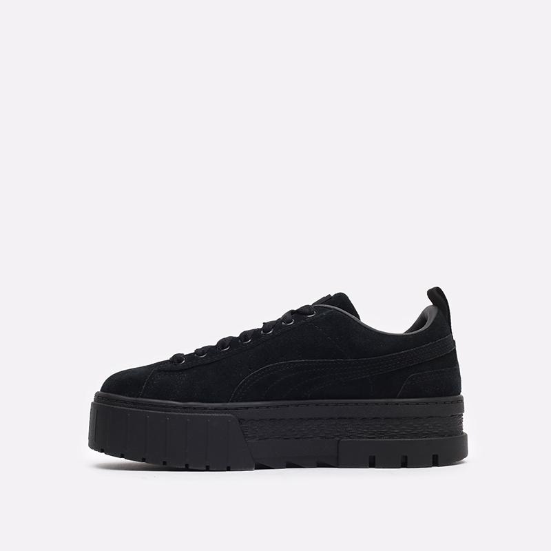 женские чёрные  кроссовки puma mayze wn's 38078404 - цена, описание, фото 2