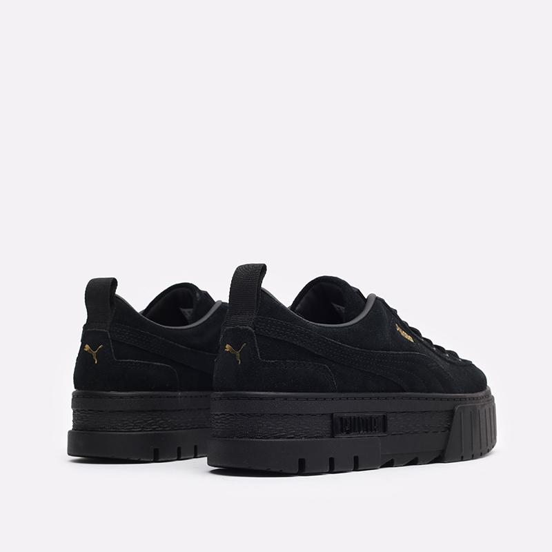 женские чёрные  кроссовки puma mayze wn's 38078404 - цена, описание, фото 3