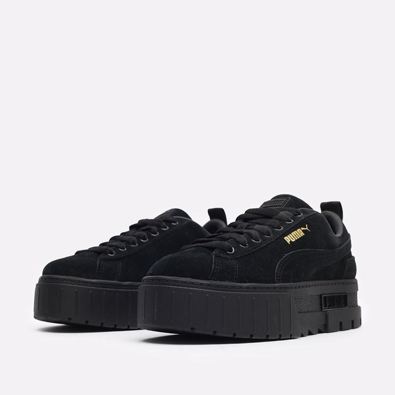 женские чёрные  кроссовки puma mayze wn's 38078404 - цена, описание, фото 4