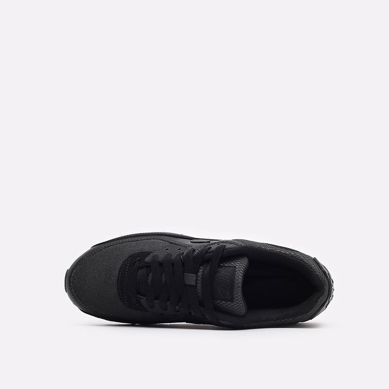 мужские чёрные  кроссовки nike air max 90 DH9767-001 - цена, описание, фото 6
