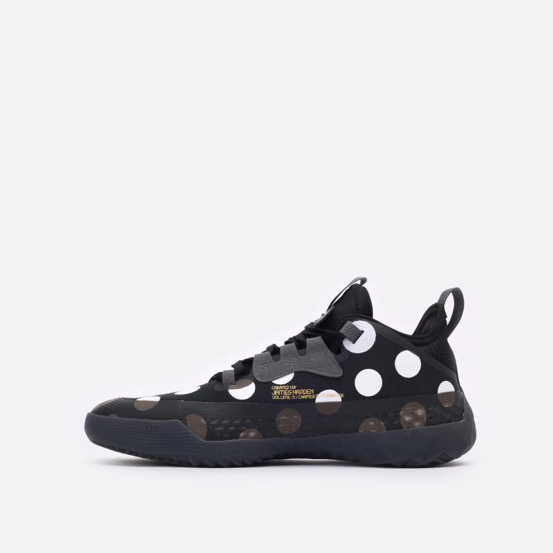 черные баскетбольные кроссовки adidas Harden Vol.5 Futurenatura H68597 - цена, описание, фото 2