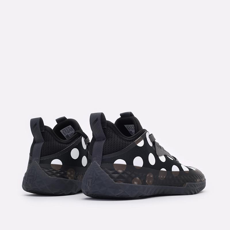 черные баскетбольные кроссовки adidas Harden Vol.5 Futurenatura H68597 - цена, описание, фото 3