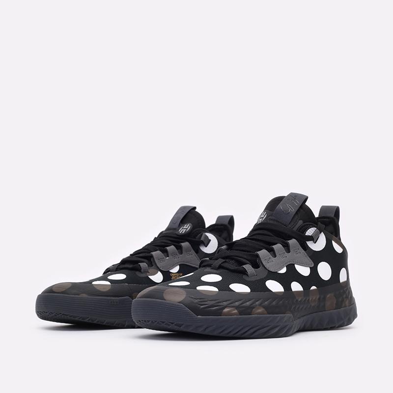 черные баскетбольные кроссовки adidas Harden Vol.5 Futurenatura H68597 - цена, описание, фото 4