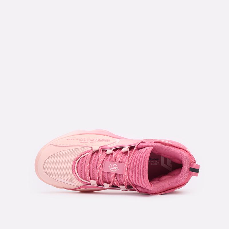 розовые  кроссовки adidas dame 7 extply H68605 - цена, описание, фото 6