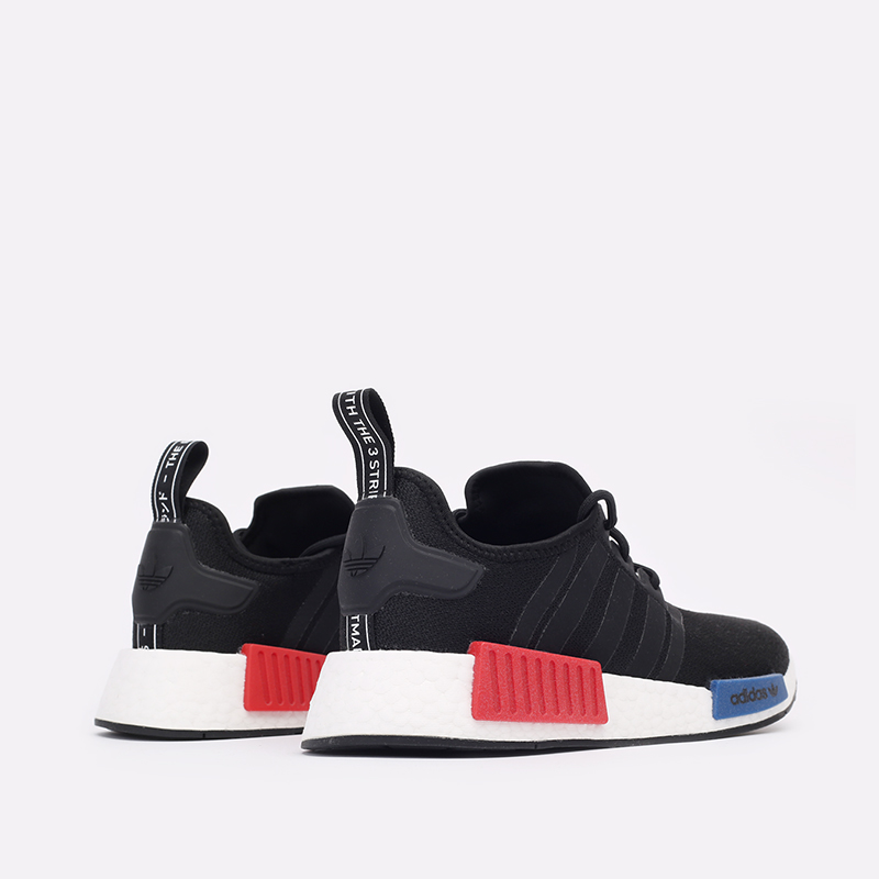 мужские чёрные  кроссовки adidas nmd_r1 GZ7922 - цена, описание, фото 3