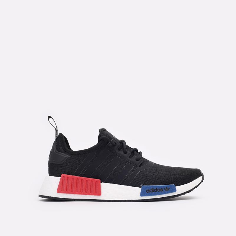 мужские чёрные  кроссовки adidas nmd_r1 GZ7922 - цена, описание, фото 1