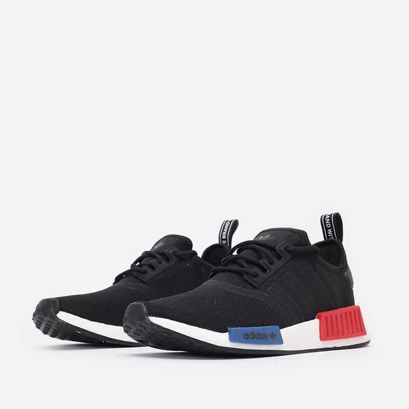 мужские чёрные  кроссовки adidas nmd_r1 GZ7922 - цена, описание, фото 4