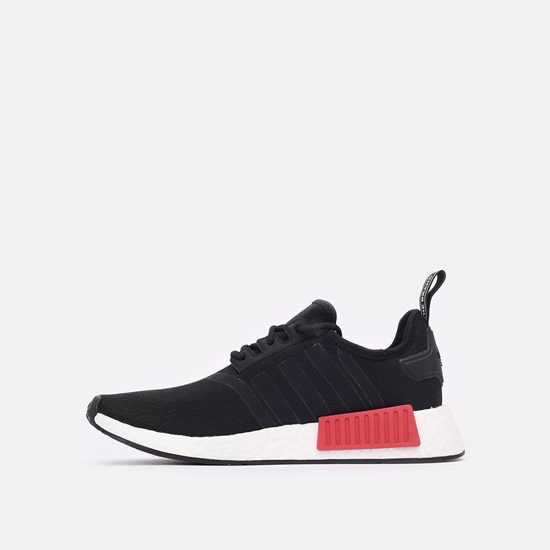 мужские чёрные  кроссовки adidas nmd_r1 GZ7922 - цена, описание, фото 2