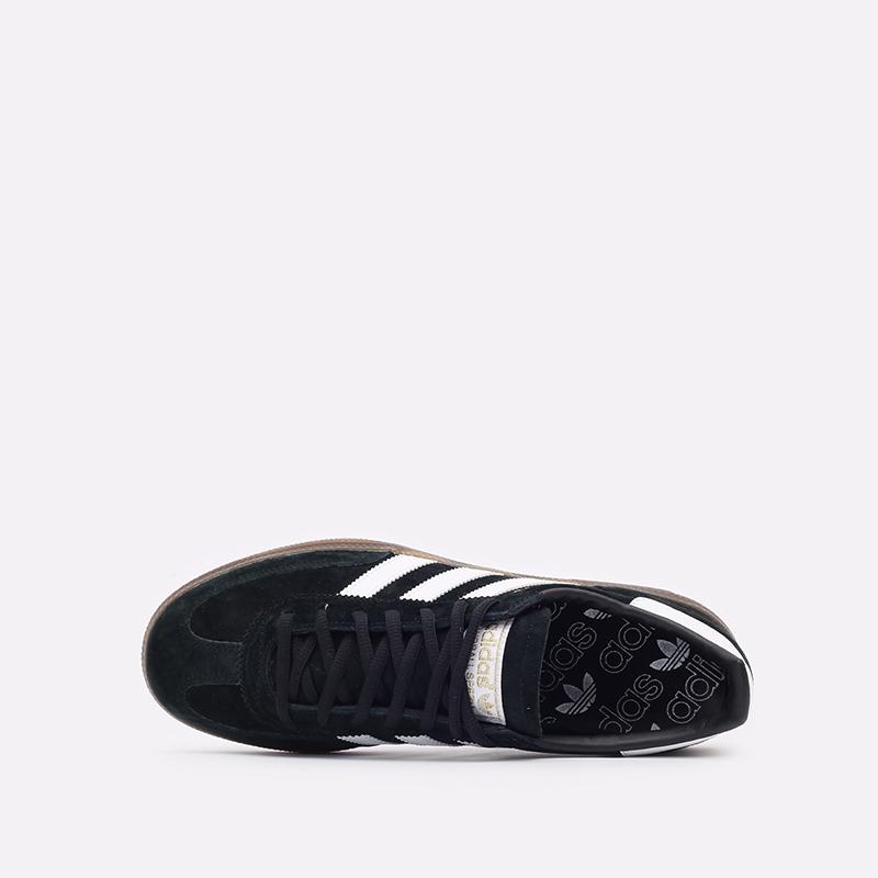 мужские чёрные  кроссовки adidas handball spezial DB3021 - цена, описание, фото 6