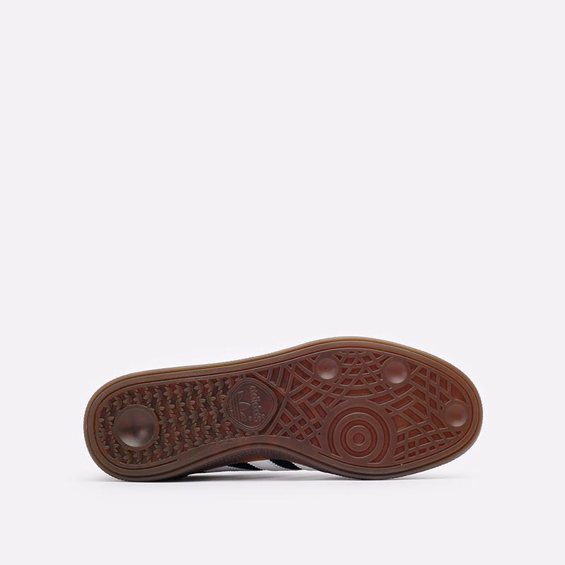 мужские чёрные  кроссовки adidas handball spezial DB3021 - цена, описание, фото 5