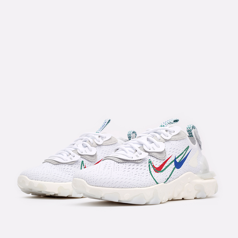 мужские белые  кроссовки nike react vision DM9095-100 - цена, описание, фото 4
