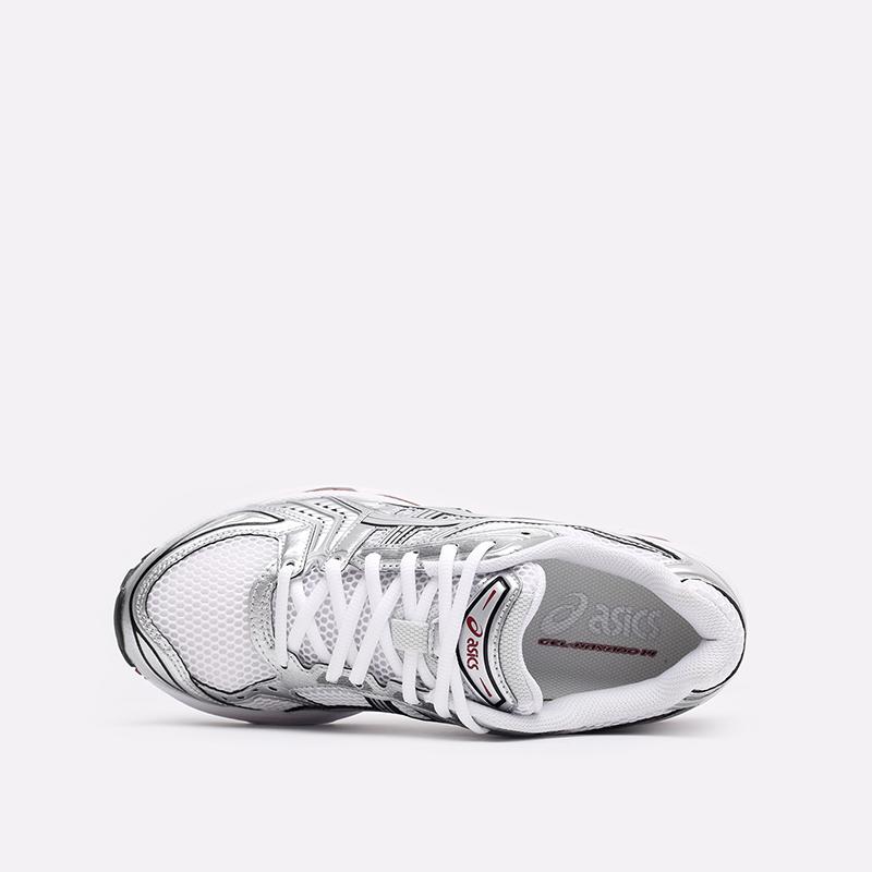 мужские белые  кроссовки asics gel-kayano 14 1201A019-104 - цена, описание, фото 6