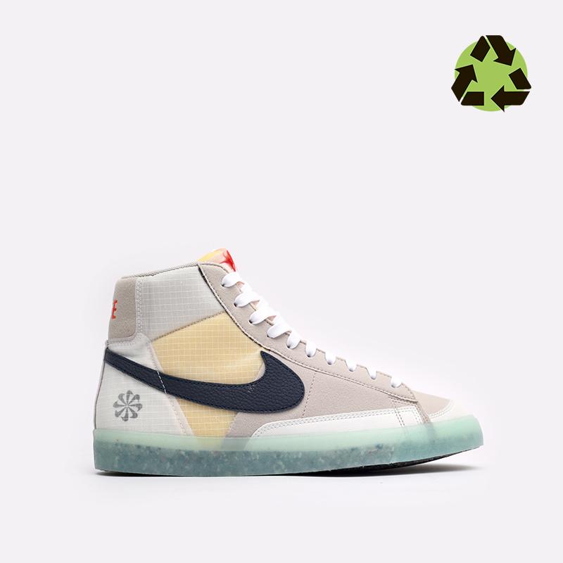 мужские бежевые кроссовки Nike Blazer Mid '77 DH4505-200 - цена, описание, фото 1