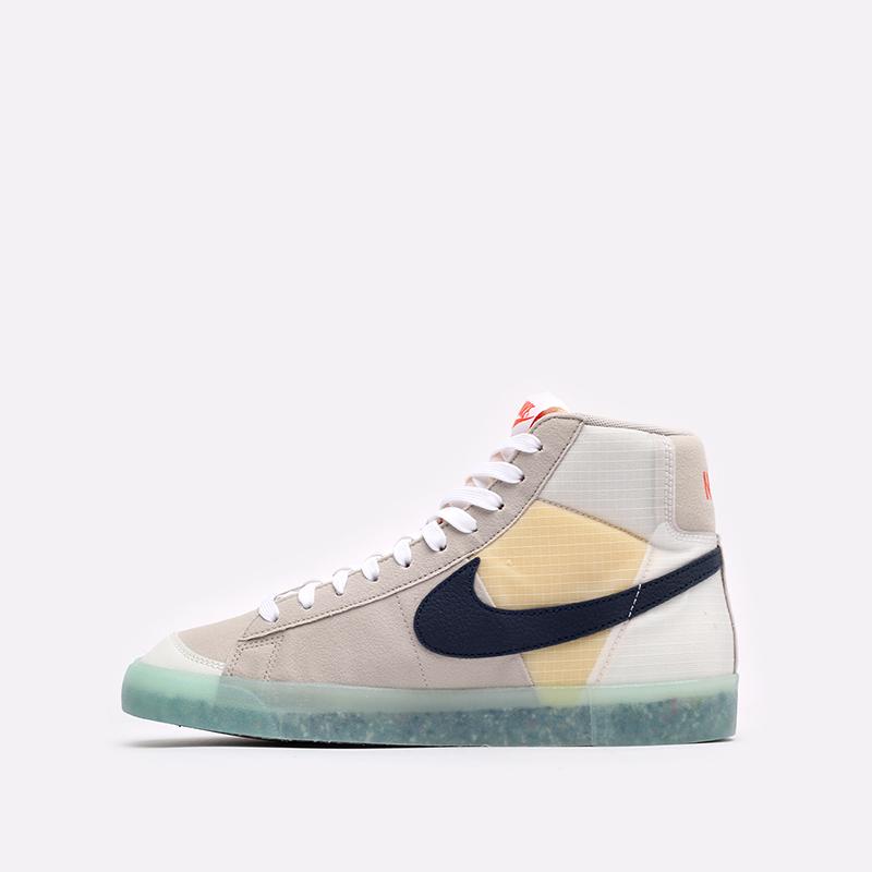 мужские бежевые кроссовки Nike Blazer Mid '77 DH4505-200 - цена, описание, фото 2