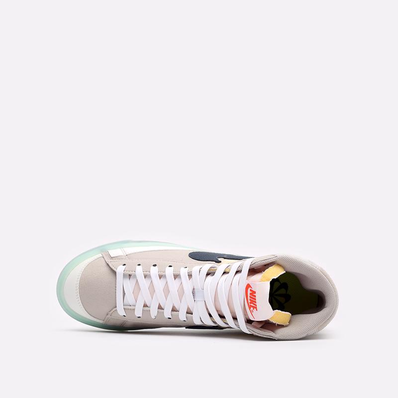мужские бежевые кроссовки Nike Blazer Mid '77 DH4505-200 - цена, описание, фото 6