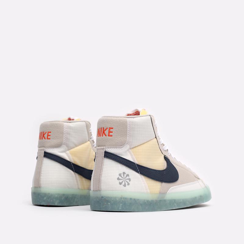 мужские бежевые кроссовки Nike Blazer Mid '77 DH4505-200 - цена, описание, фото 3