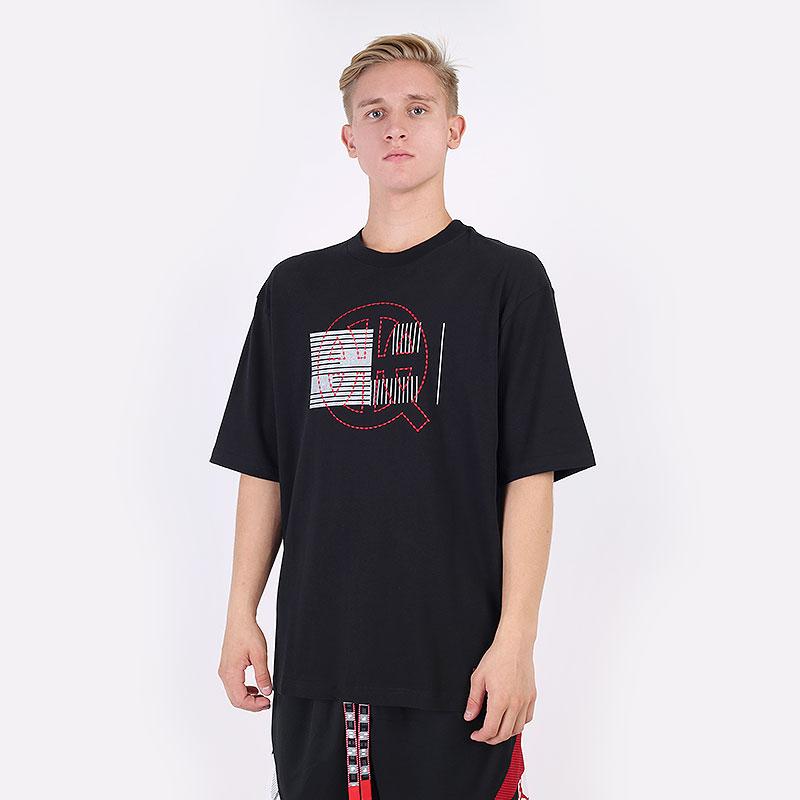 мужская черная футболка Jordan Quai 54 Tee DM0756-010 - цена, описание, фото 1