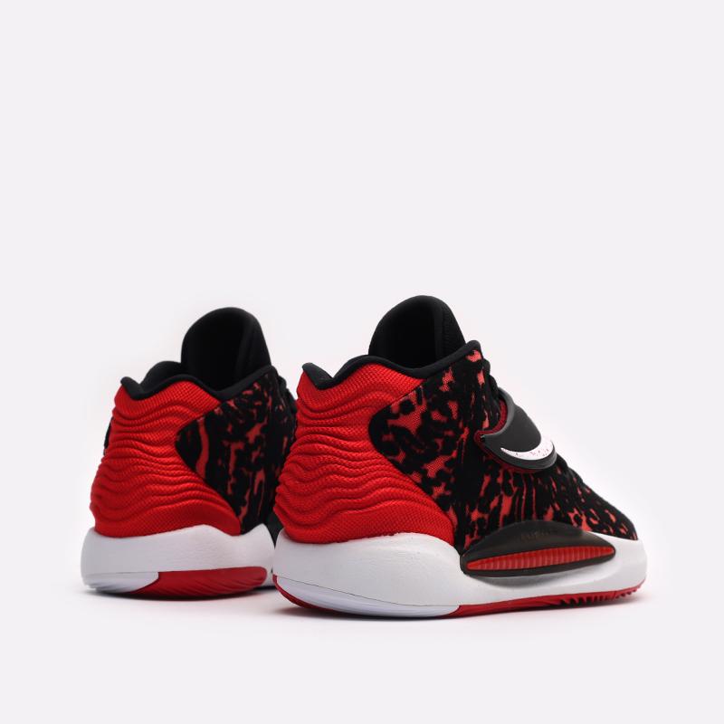 мужские чёрные, красные  кроссовки nike kd14 CW3935-006 - цена, описание, фото 3