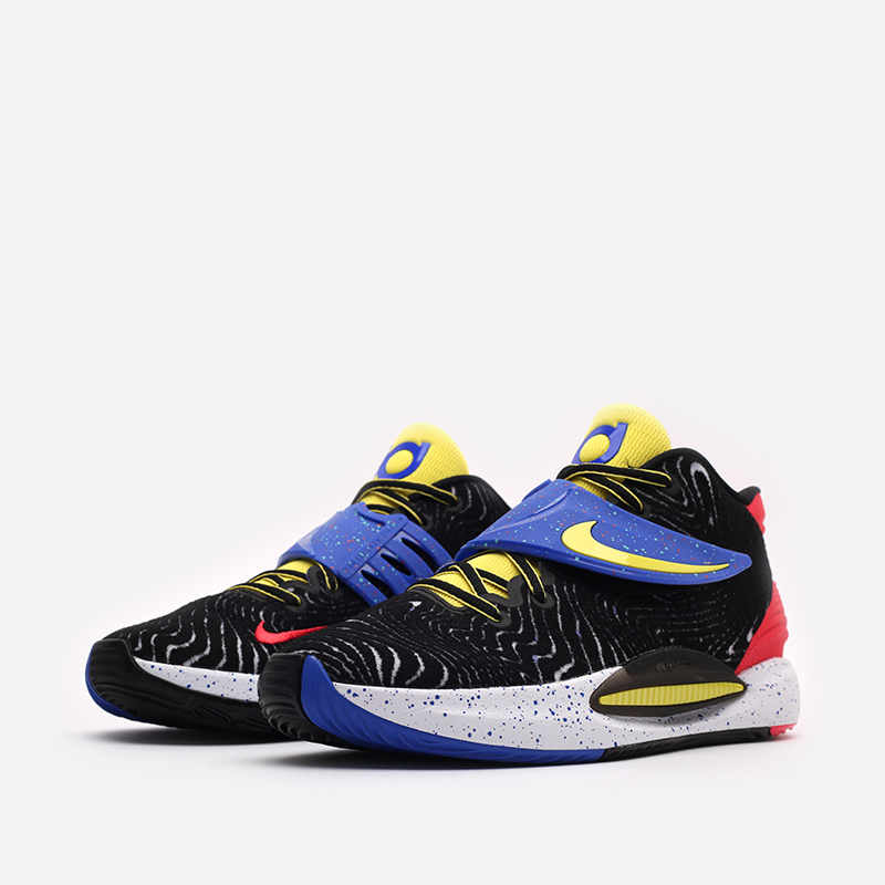 мужские разноцветные  кроссовки nike kd14 CW3935-004 - цена, описание, фото 4