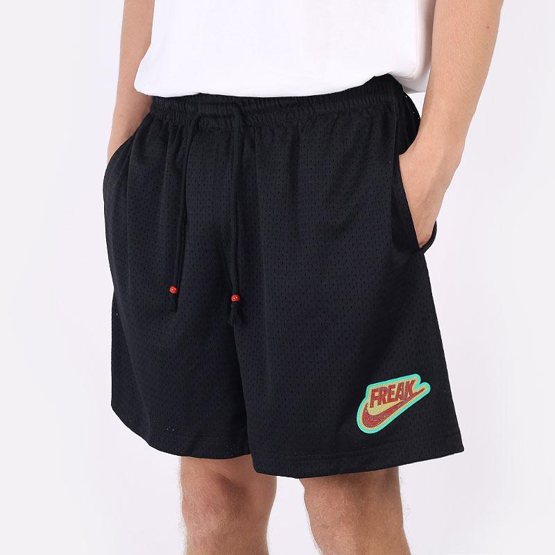 мужские черные шорты  Nike Giannis Freak Mesh Basketball Shorts DA5689-010 - цена, описание, фото 1