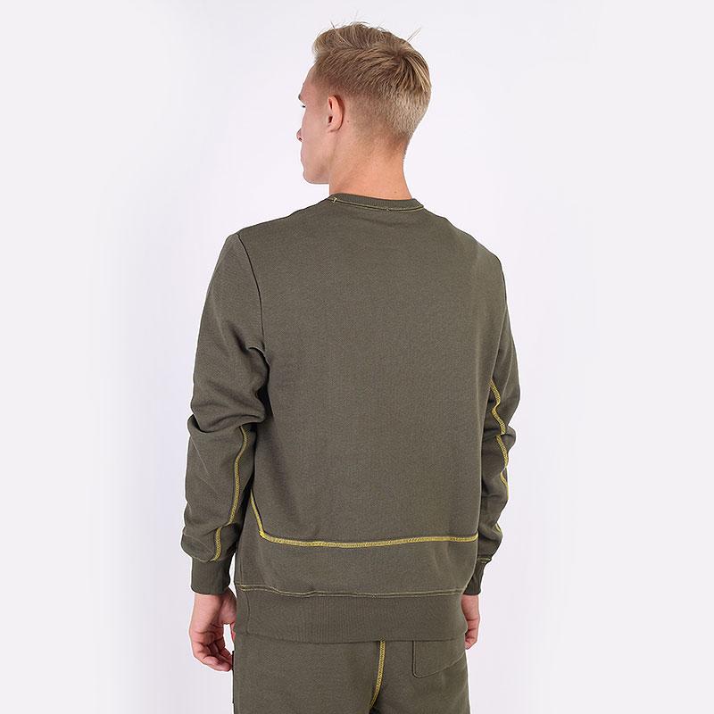 мужскую зеленую  толстовка puma pivot crew 53210801 - цена, описание, фото 6