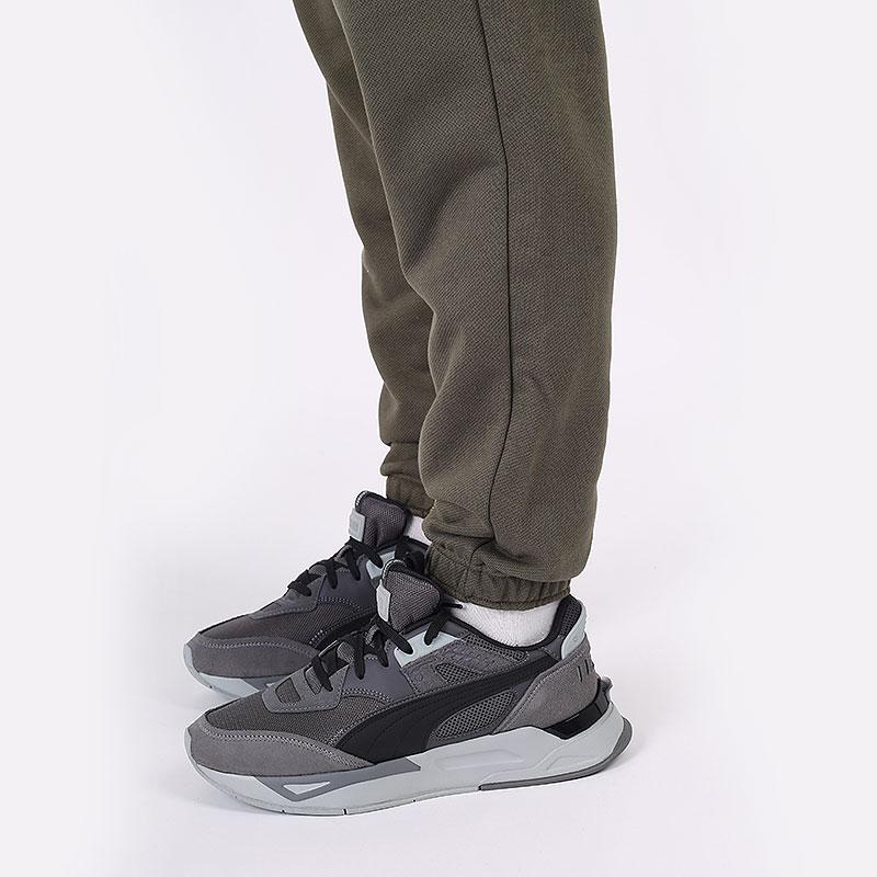 мужские зеленые  брюки puma pivot pant 53211001 - цена, описание, фото 7