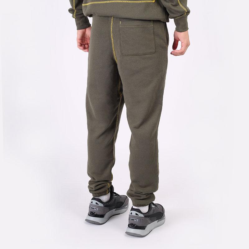 мужские зеленые  брюки puma pivot pant 53211001 - цена, описание, фото 5