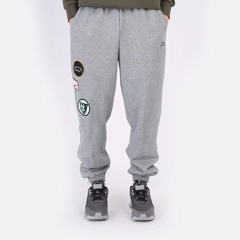 мужские серые брюки PUMA Combine Pant 53210303 - цена, описание, фото 3