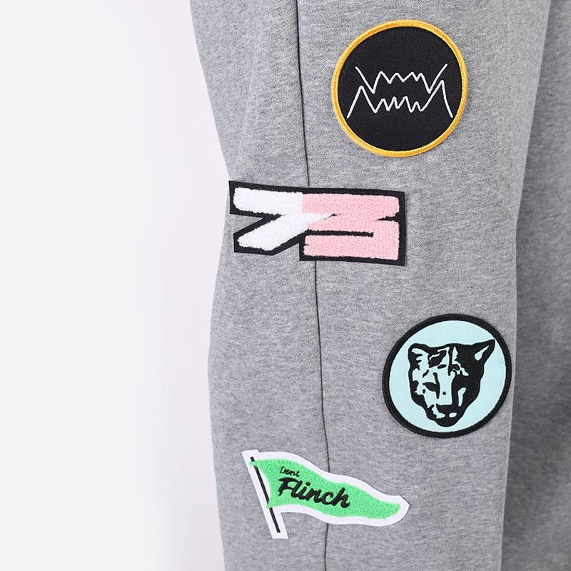 мужские серые брюки PUMA Combine Pant 53210303 - цена, описание, фото 2