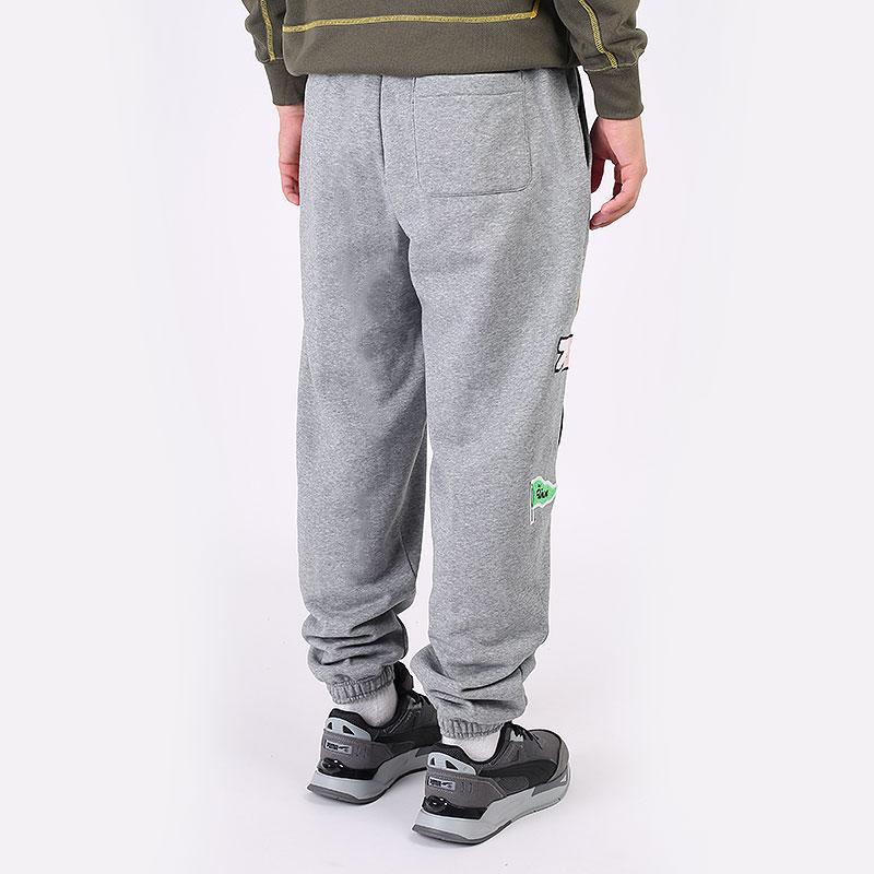 мужские серые брюки PUMA Combine Pant 53210303 - цена, описание, фото 5