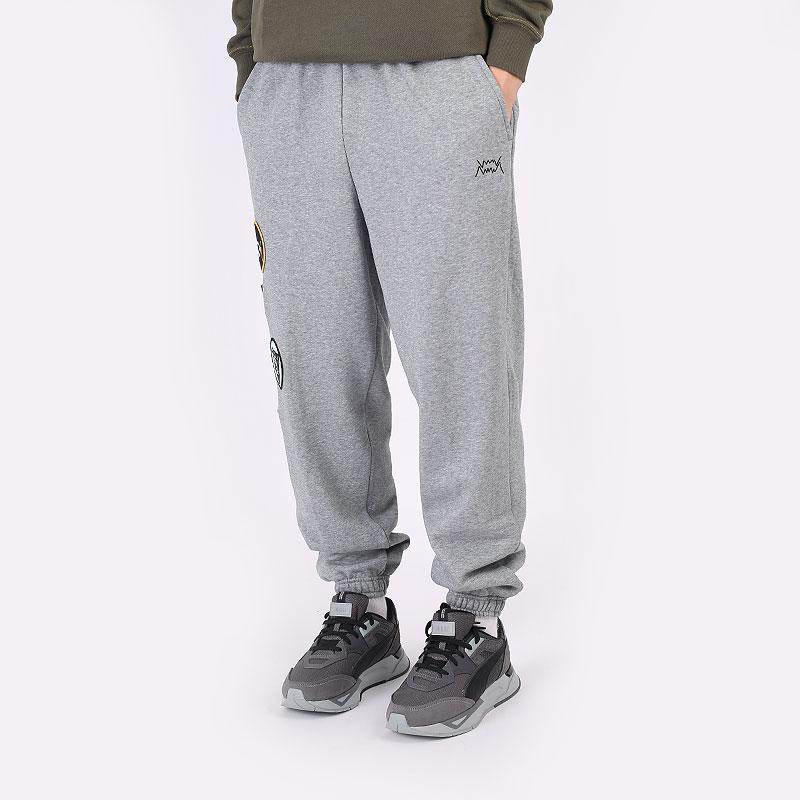 мужские серые брюки PUMA Combine Pant 53210303 - цена, описание, фото 1