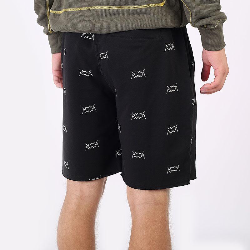 мужские черные  шорты  puma blue chip short 53209902 - цена, описание, фото 4