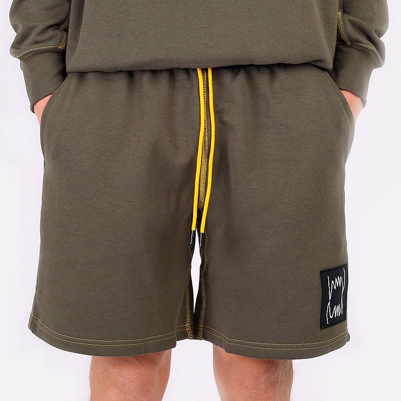 мужские зеленые шорты  PUMA Pivot Short 53210901 - цена, описание, фото 3