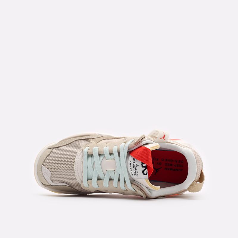 женские бежевые  кроссовки jordan wmns ma2 CW5992-200 - цена, описание, фото 6