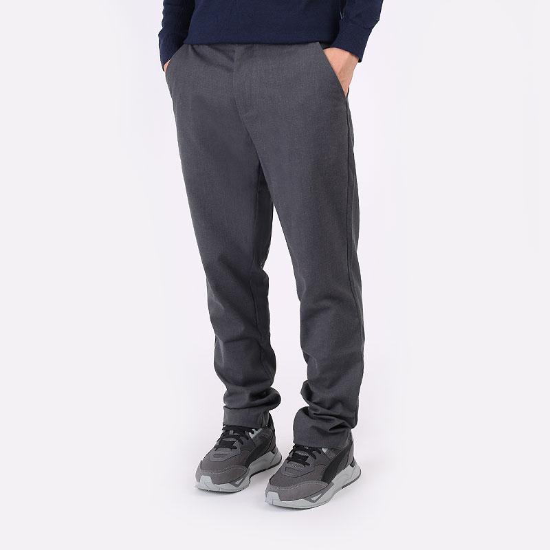 мужские серые  брюки puma ap tab trouser 59730602 - цена, описание, фото 1