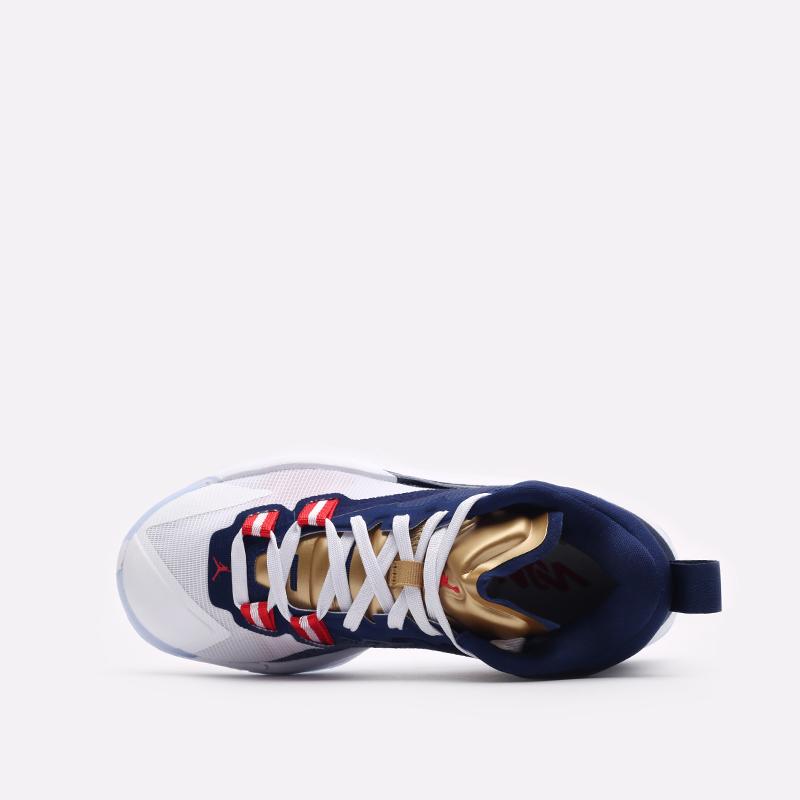женские синие баскетбольные кроссовки Jordan Zion 1 (GS) DA3131-401 - цена, описание, фото 6