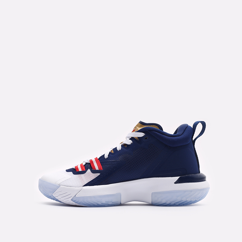 женские синие баскетбольные кроссовки Jordan Zion 1 (GS) DA3131-401 - цена, описание, фото 2