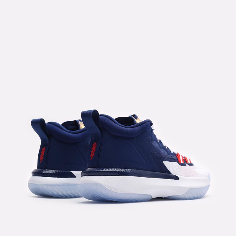 женские синие баскетбольные кроссовки Jordan Zion 1 (GS) DA3131-401 - цена, описание, фото 3