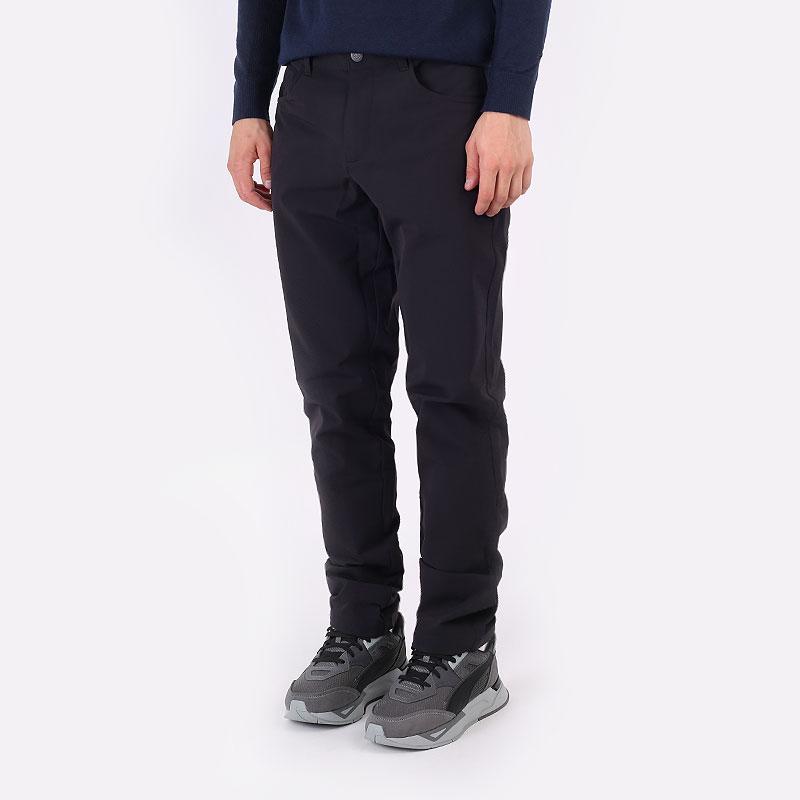 мужские черные  брюки puma 5 pocket utility pant 59760101 - цена, описание, фото 1