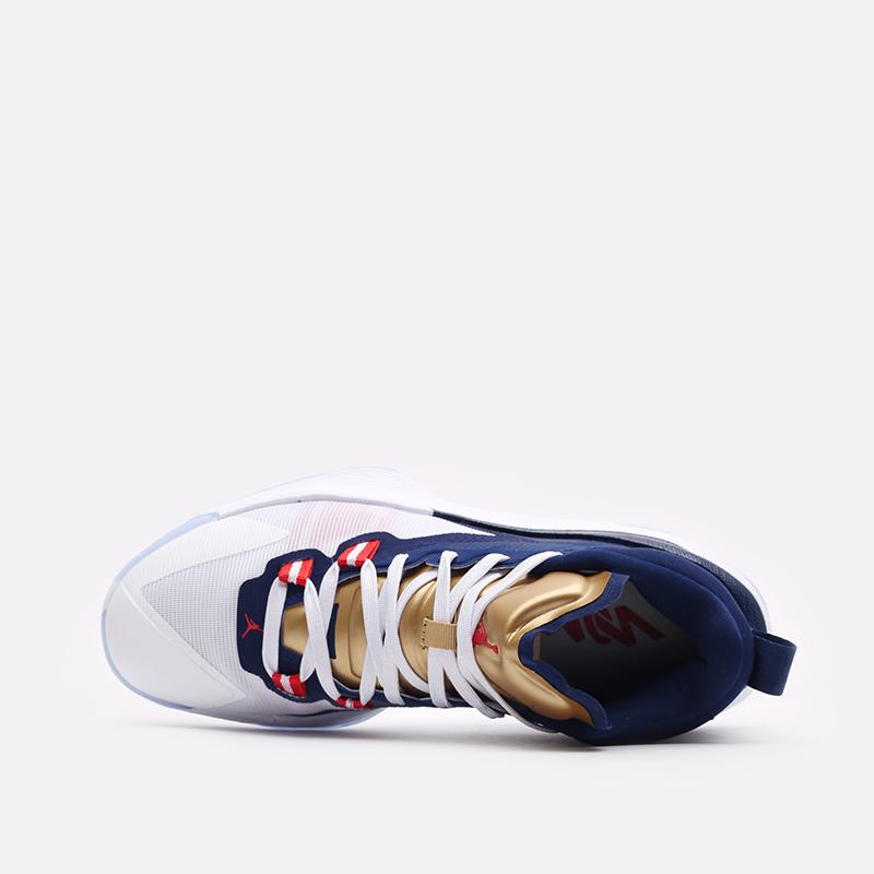 мужские синие баскетбольные кроссовки Jordan Zion 1 DA3130-401 - цена, описание, фото 6