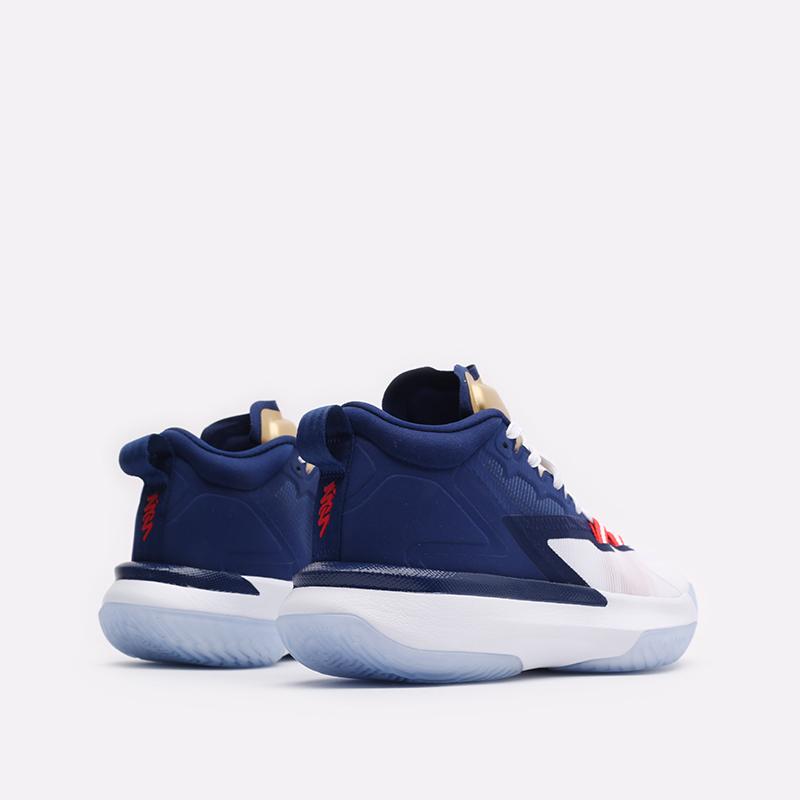 мужские синие баскетбольные кроссовки Jordan Zion 1 DA3130-401 - цена, описание, фото 3