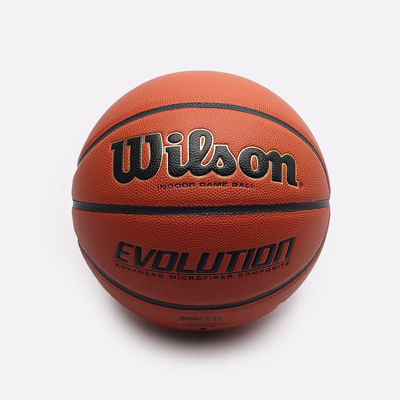коричневый  мяч wilson evolution WTB0516XBEMEA - цена, описание, фото 1
