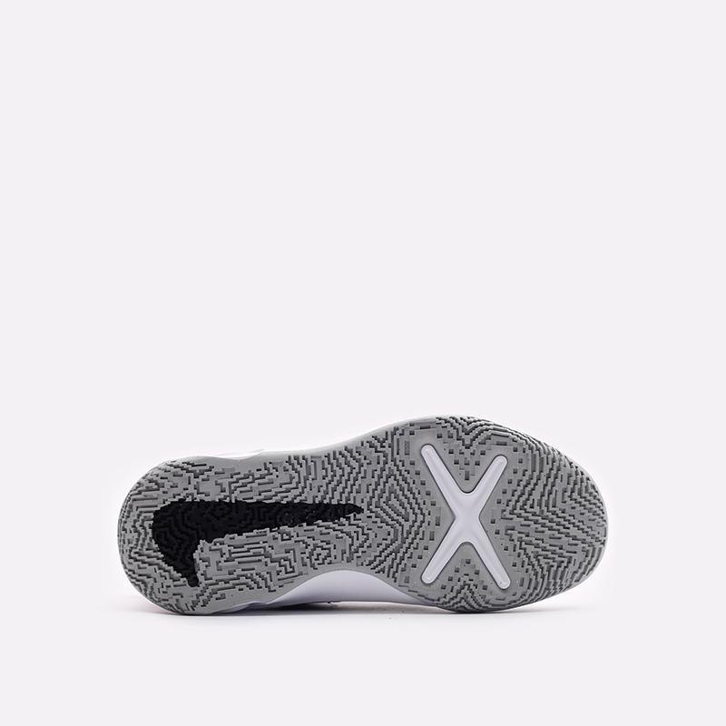 детские белые баскетбольные кроссовки Nike Team Hustle D 10 SE (PS) DH8055-100 - цена, описание, фото 5